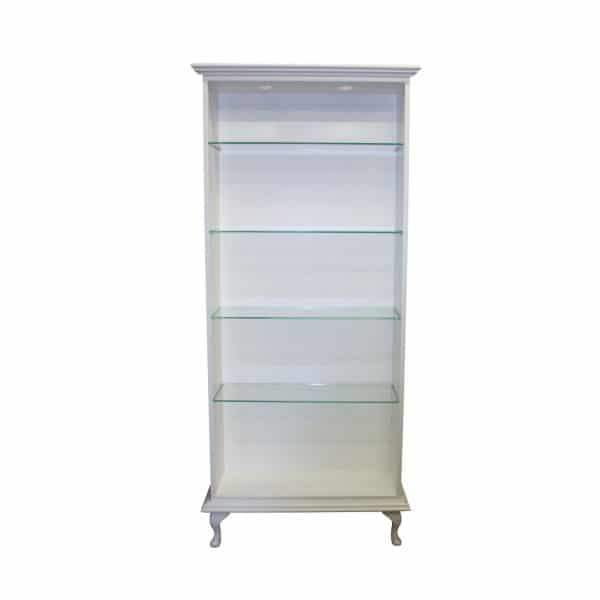 Floor Standing Glass Shelf Display Unit